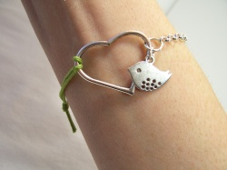 love bird bracelet