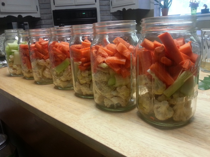 veggies ready to ferment